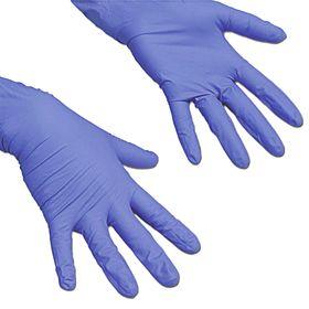 Резиновые перчатки для профессиональной уборки «ЛайтТафф», размер М, цвет сиреневый