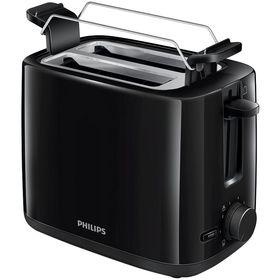 Тостер Philips HD 2581/90, 830 Вт, 2 тоста, функция размораживания, черный