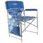 Кресло складное КС2, 49 х 55 х 82 см, цвет джинс/синий