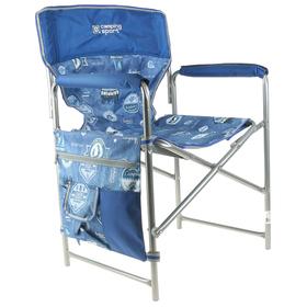 Кресло складное КС2, 49 х 55 х 82 см, цвет джинс/синий Ош