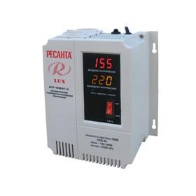 Стабилизатор напряжения Ресанта АСН 1500 Н/1-Ц Lux