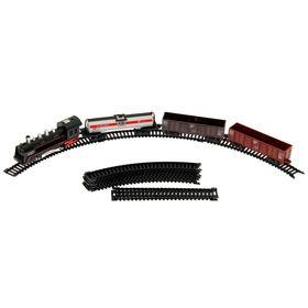 Железная дорога «Классик», работает от батареек, в пакете