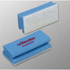 Губка для профессиональной уборки Vileda, мягкая, цвет голубой, 7 х 15 см