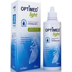 Раствор Optimed Light, 125 мл Ош