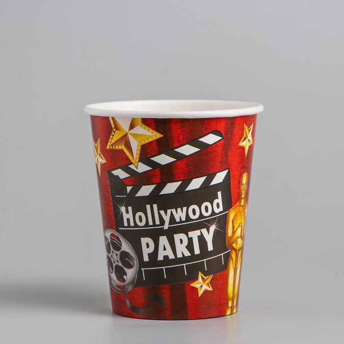 Стакан бумажный Голливудская вечеринка, 250 мл