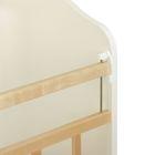 Детская кроватка «Морозко. Бабочки» с ростомером, на маятнике, с ящиком, цвет белый/берёза - Фото 3