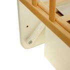 Детская кроватка «Морозко. Бабочки» с ростомером, на маятнике, с ящиком, цвет белый/берёза - Фото 5