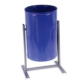 Урна для мусора «Уралочка-Бюджет», 21 л, цвет синий Ош