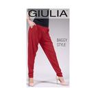 Леггинсы женские BAGGY STYLE 01, цвет extra red gul, размер XS