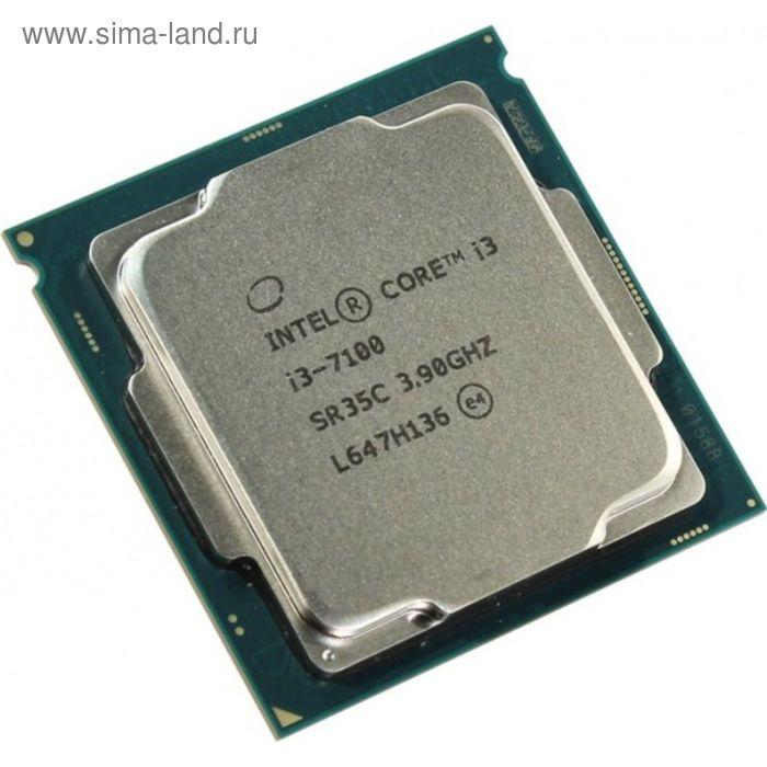 Процессор Intel Original Core i3 7100 Soc-1151 (CM8067703014612S R35C), 3.9GHz, OEM