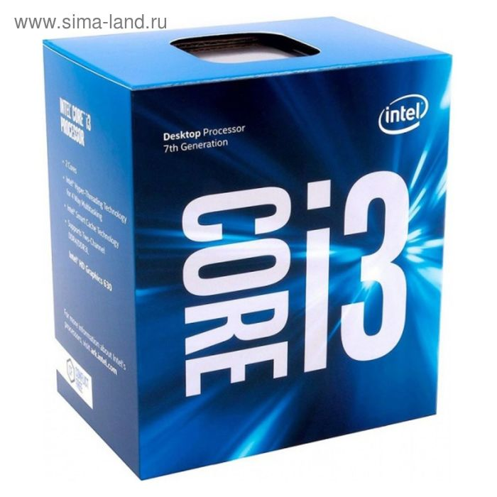 Процессор Intel Original Core i3 7320 Soc-1151 (BX80677I37320 S R358), 4.1GHz, Box
