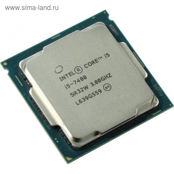 Процессор Intel Original Core i5 7400 Soc-1151 (CM8067702867050S R32W), 3GHz, OEM
