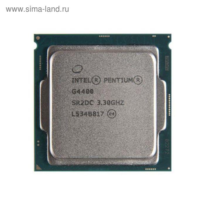 Процессор Intel Original Pentium Dual-Core G4400 Soc-1151 CM8066201927306S R2DC, 3.3GHz, OEM   24773