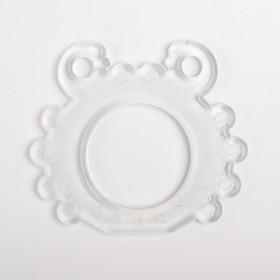 Прорезыватель силиконовый «Растём вместе», виды МИКС
