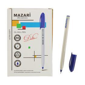 Ручка шариковая Mazari Delta Ultra Soft, 1.0 мм, синяя