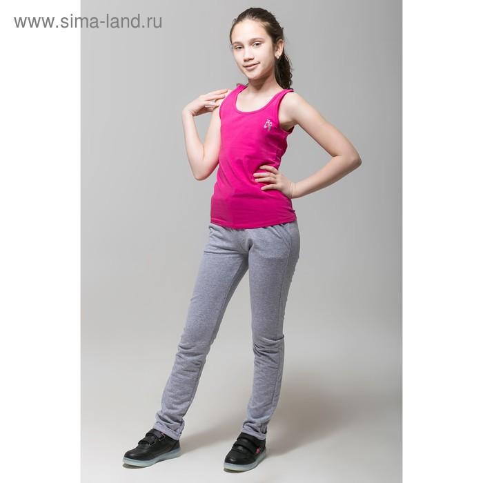 Майка для девочки, рост 158 см, цвет фуксия