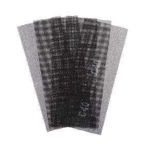 Сетка абразивная TUNDRA PRO, водостойкая, карбид кремния, 115 х 280 мм, Р40, 5 шт. Ош