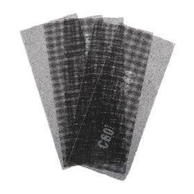 Сетка абразивная TUNDRA, водостойкая, карбид кремния, 115 х 280 мм, Р60, 5 шт. Ош
