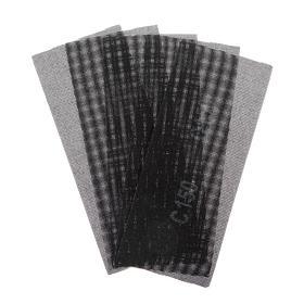 Сетка абразивная TUNDRA PRO, водостойкая, карбид кремния, 115 х 280 мм, Р150, 5 шт. Ош