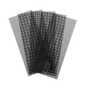 Сетка абразивная TUNDRA PRO, водостойкая, карбид кремния, 115 х 280 мм, Р320, 5 шт. Ош