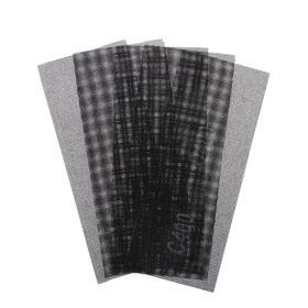 Сетка абразивная TUNDRA PRO, водостойкая, карбид кремния, 115 х 280 мм, Р400, 5 шт. Ош