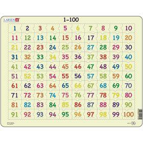Пазл «1-00», 100 деталей (AR10)
