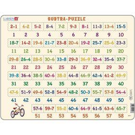 Пазл «Математика-вычитание», 81 деталь (AR7)