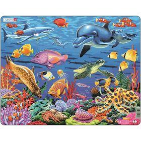 Пазл «Коралловый риф», 35 деталей (FH29)