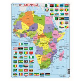 Пазл «Африка (Русский), 70 деталей K13