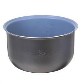 Чаша для мультиварки 'Добрыня' DO-11 non-stick, 4 л, антипригарная, серая Ош