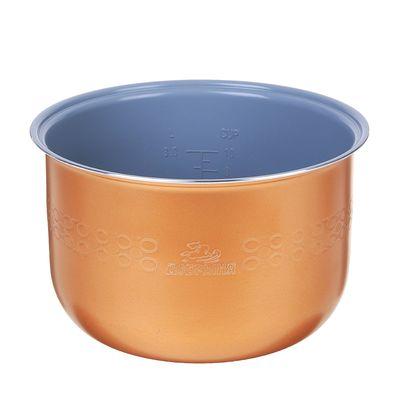 "Чаша для мультиварки ""Добрыня"" DO-12, 5 л, антипригарная, коричневая"