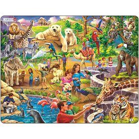 Пазл «Зоопарк», 48 деталей (US30)