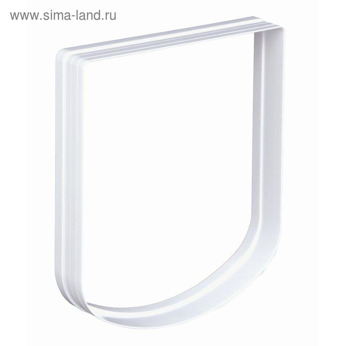 Элемент туннеля для дверцы Trixie, 23 × 26.5 см, белый