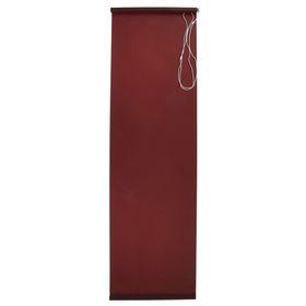Штора рулонная 50х175 см 'Плайн', цвет темно-коричневый Ош
