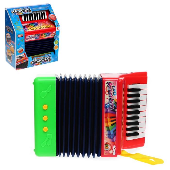 Музыкальная игрушка Гармонь, звуковые эффекты, МИКС