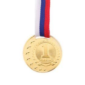 Медаль призовая 064 диам 4 см, золото Ош