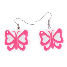 Световые серьги «Бабочка»
