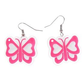 Световые серьги «Бабочка» Ош