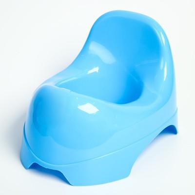 Горшок детский «Львёнок», цвет синий МИКС - Фото 1