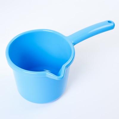 Ковш для купания детский 1,3 л, цвет МИКС - Фото 1