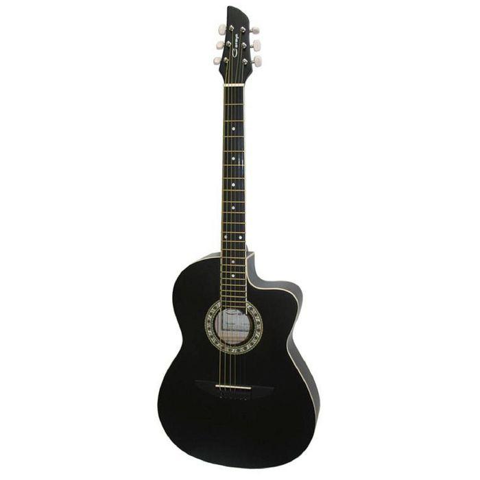Акустическая гитара Caraya C931-BK с вырезом