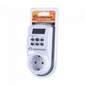 Розетка-таймер Elektrostandard TMH-E-4 ES, электронная, 10 программ, IP20 Ош