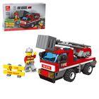 Конструктор «Пожарная машина с лестницей», 126 деталей - Фото 1