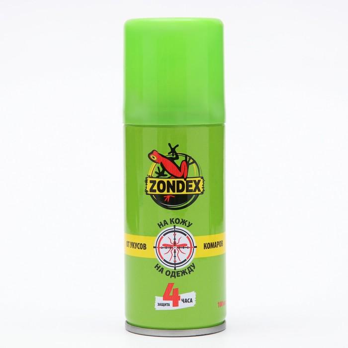 """Аэрозоль от укусов комаров """"Zondex"""", универсальный, 100 мл"""