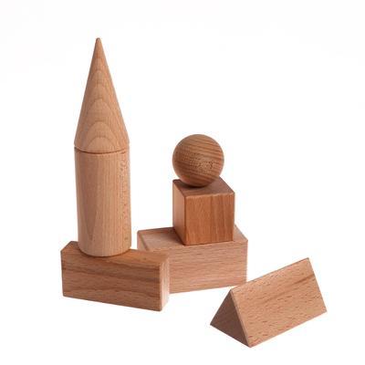 Набор геометрических тел, 7 деталей - Фото 1