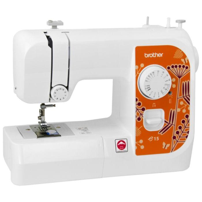 Швейная машина Brother E 15, 50 Вт