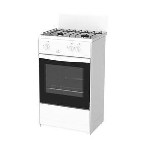 Плита Darina 1АS GM 521 01 W, газовая, 2 конфорки, 45 л, газовая духовка, белая