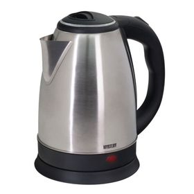 Чайник электрический Mystery MEK-1601, 2000 Вт, 1.7 л, серебристый Ош