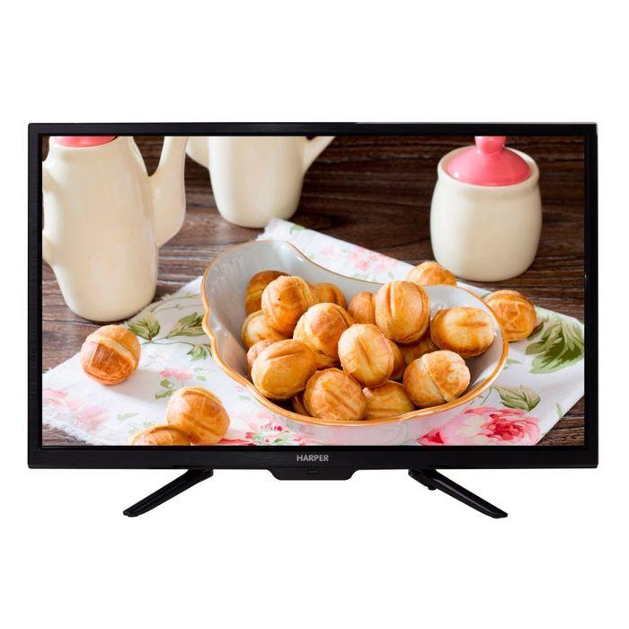 "Телевизор Harper 28R660T, LED, 28"", черный"
