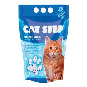Наполнитель силикагелевый Cat Step, 3.0л (1.4кг) Ош